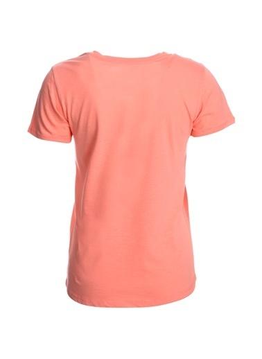 Sportive Flakestop Kadın Pembe Koşu Tişört 710180-Pnk Renkli